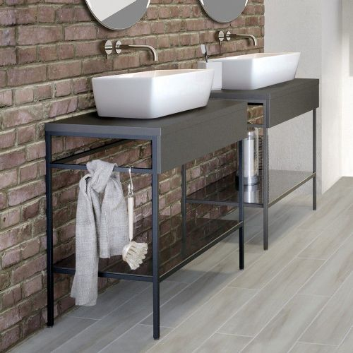 Berg 600mm Countertop Basin With Freeflow Basin Waste